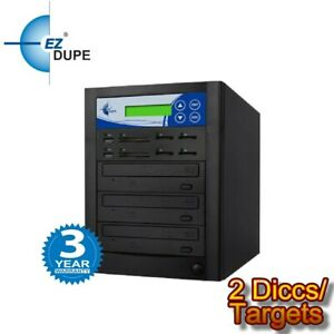 Multimedia Crossover Duplicator PLUS 2 Target DVD SD USB backup