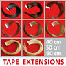 Cabello Natural Tapes 40/50/60 cm Pelo Extensión Extensiones Remy Skin Weft Aa