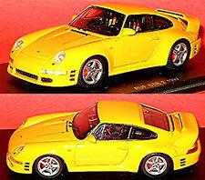 PORSCHE 911 Ruf Ctr 2 1997 GIALLO 1:43 Spark