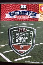 NCAA College Football Fight Hunger Bowl Patch 2013/14 Washington, BYU