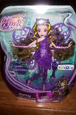 "Winx Club Trix Collection Darcy Queen of Darkness 12"" Doll Sirenix ToysRUs Excl"