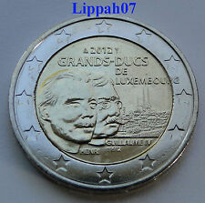 Luxemburg speciale 2 euro 2012 Guillaume / Wilhelm IV UNC