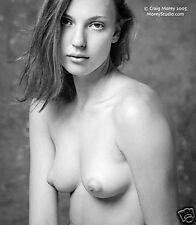 Fine Art Black & White Nude, signed photo by Craig Morey: Yelena 38798.11