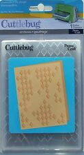# Cuttlebug Diamonds in the rough A2 Embossing Folder Sizzix