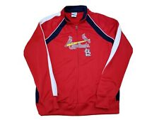 Women's MLB St Louis Cardinals Full Zip Track Jacket w/Pockets, Large, FREE SHIP