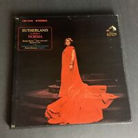 JOAN SUTHERLAND BEILLINI NORMA RCA STEREO LSC 6166 BOX SET RECORD ALBUM