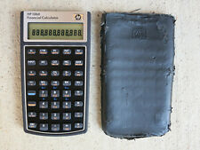 Hp 10bIi Financial Calculator with Case, Used