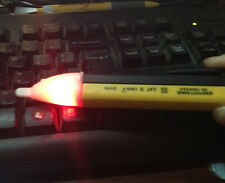 Test Pencil 1AC-D II 90-1000V LED Light Pocket Pen Voltage Alert Detector Orange