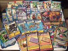 Digimon Card Lot 25 Random Cards Rare Promo Singles All Series