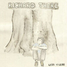 RICHARD THERE Less is Less 2014 UK limited promo vinyl LP + MP3 and inserts