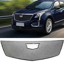 Fit For 2017-2020 Cadillac XT5 Grill Cover Painted Grille Trim Guard Gloss Black