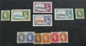 nystamps British Cayman Island Stamp # 50//84 Mint OG H $32   L16x2050