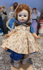 New ListingVintage Madame Alex Hard Plastic Alexander-kins Wendy Straight Leg Walker Doll