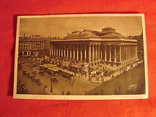 ANCIENNE CARTE POSTALE LA BOURSE PARIS 75 / CPA