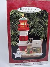 1997, LIGHTHOUSE GREETINGS, 1st, HALLMARK KEEPSAKE ORNAMENT