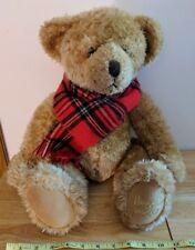 Harrods 2002 Teddy Bear Plush w/ Scarf - no sweater