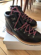 Moncler Matterhorn Vibram Leather Hiking Boots Italy 43 USA 10
