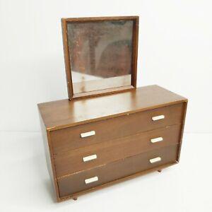 VTG Mattel Mid Century Modern 1958 Barbie Furniture Dresser Mirror 808 with Box