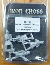 Great Escape Games: Iron Cross: Italian Command – Winter Uniform  – (ITA102)(4)