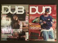DUB Magazine Lot of 2 - Missy Elliot/T.I & Carmelo Anthony Covers