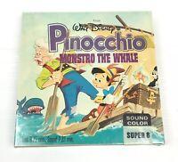 Super 8 Movie Pinocchio Monstro The Whale Walt Disney No.002 New Sealed RARE