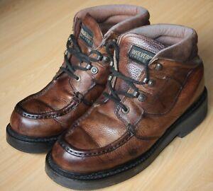 Wolverine Durashocks Boots. Mens size UK11, EU45 Wide fitting. Great Patina