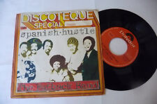 "THE FATBACK BAND""SPANISH HUSTLE- DISCO 45 GIRI 7'-POLYDOR It 1976""PERFECT"
