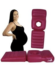 Inflatable Maternity Pregnancy Pillow With Hole, Pool Float, Stomach Sleeper