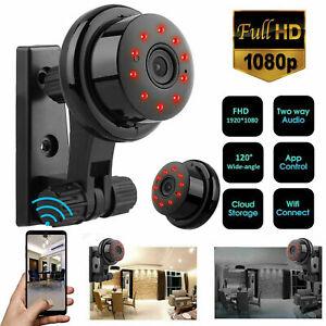 1080P Wireless WiFi CCTV Indoor Outdoor HDMI MINI IP Camera CAM Security IR LED