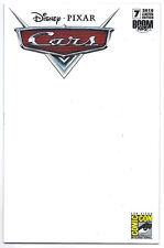 DISNEY / PIXAR CARS #7 SDCC VARIANT LIMITED EDITION BLANK COVER 9.0 - VF/NM