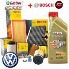 INSPEKTIONSKIT + ÖL CASTROL EDGE 5W40 FILTERSET BOSCH VW GOLF 5 V 1K 1.9 TDI