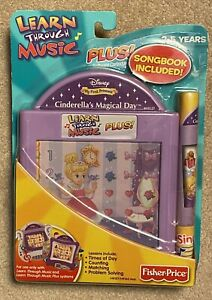 Fisher Price Learn Through Music Cinderella's Magical Day Cartridge NOS