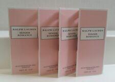 4x Ralph Lauren Tender Romance 0.05 oz Eau de Parfum Spray New in Retail Box.