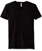 Marky G Apparel Men's Cotton V-neck T-Shirt Black Size Large NWT