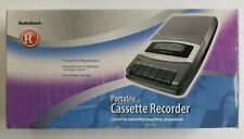 Radio Shack CTR-111 Portable Cassette Recorder 14-1117 AC Power & Battery in Box