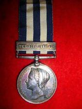 """Egypt Medal 1882, """"The Nile 1884-85""""  to The Duke of Cornwall's Light Infantry"""