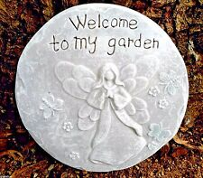 gostatue welcome to my garden plastic stepping stone mold mould