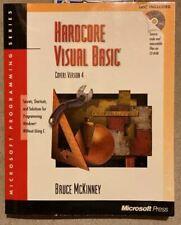 Hardcore Visual Basic Version 4  Book and CD 1995