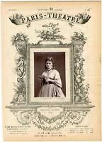 Lemercier, Paris-Théâtre, Christine Nilsson née Kristina Törnerhjelm (1843-1921)