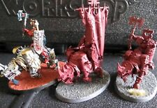 Warhammer Warriors of Chaos and Blades of Khorne Mighty Skullcrushers Regiment