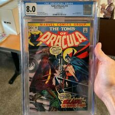 Marvel Tomb of Dracula #10 CGC 8.0 OW/W 1st Appearance Blade The Vampire Slayer!