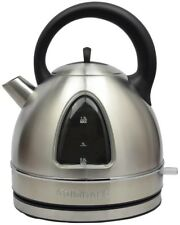 Electric Kettle 7-Cup Stainless One-Touch Operation with Removable Spout Filter