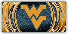West Virginia University Faux Diamond Plate SVWVUDP00