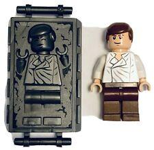 Lego ® Star Wars ™ ™ 75137 Han Solo en Carbonita Minifigura auténtico bonito conjunto