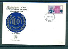 Royaume-Uni - United Kingdom 1969 - Y. & T. n.561 - ILO / OIT