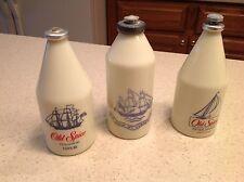 Vintage Lot of 3 bottles Old Spice Aftershave, Cologne, Talcum Powder Shulton