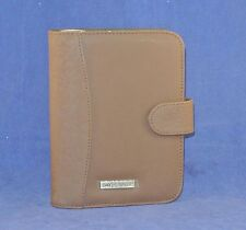 """1"""" Rings COMPACT BROWN Nylon   DAY RUNNER Planner (binder) fits Franklin inserts"""