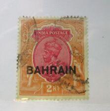 1933 Bahrain SC #13 KGV  India postage used stamp