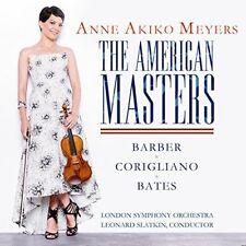 ANNE AKIKO MEYERS - THE AMERICAN MASTERS   CD NEUF