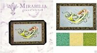 Mirabilia Counted Cross Stitch Chart with Bead pack ~ EMERALD MERMAID #77 Sale